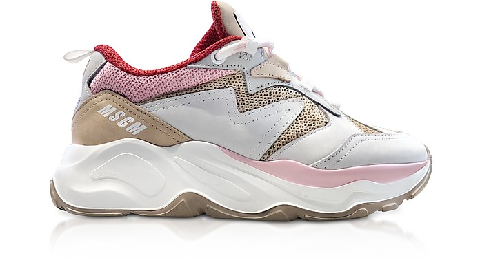 MSGM Nude Attack Sneakers - MSGM