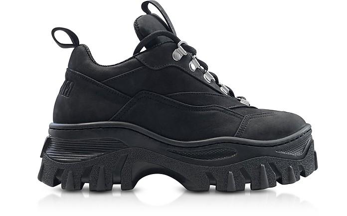 MSGM Black Tractor Sneakers - MSGM / エムエスジーエム