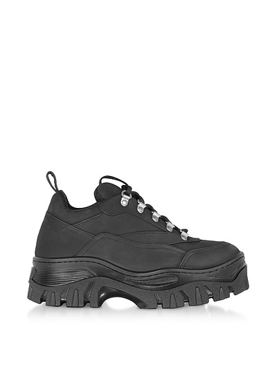 Black Tractor Sneakers - MSGM