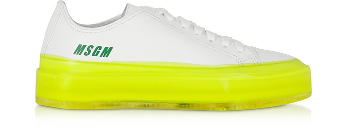 MSGM Fluo Floating Sneakers - MSGM