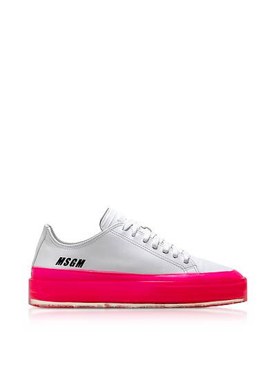 MSGM Fuchsia Floating Sneakers - MSGM