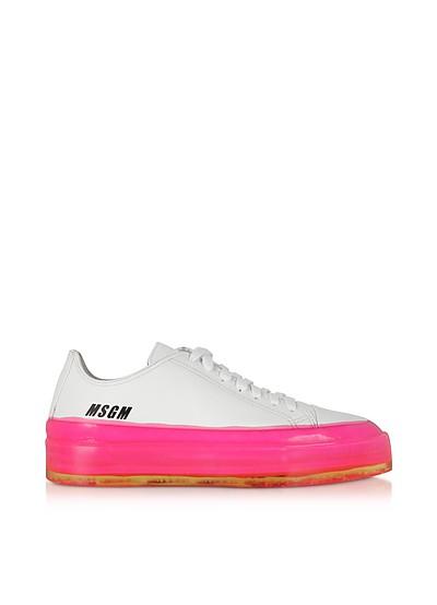 MSGM Fuchsia Floating Sneakers - MSGM