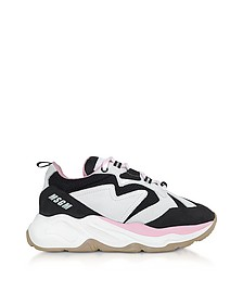 Black & Pink Attack Sneakers