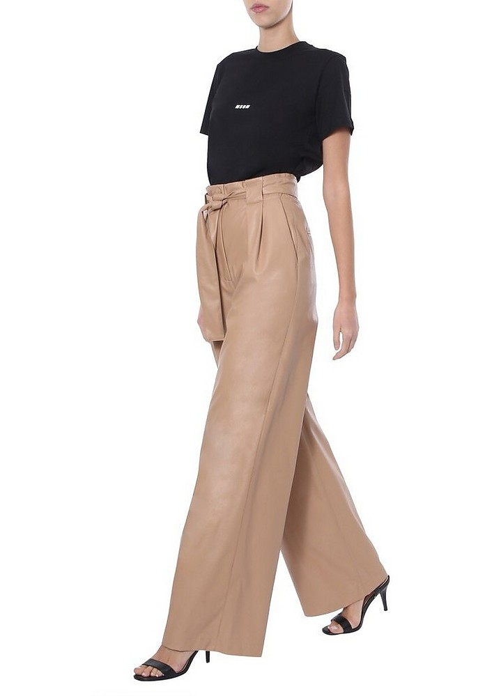 Wide Trousers - MSGM