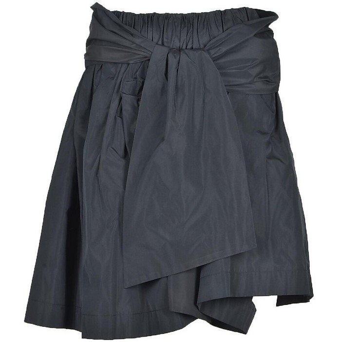 Women's Black Skirt - MSGM / エムエスジーエム