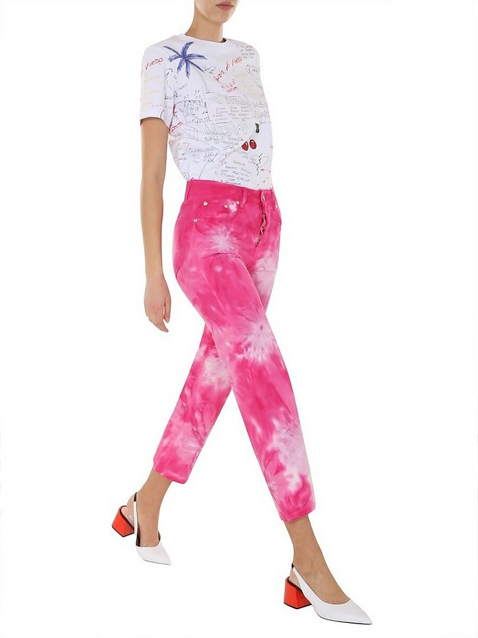 Cropped Jeans - MSGM