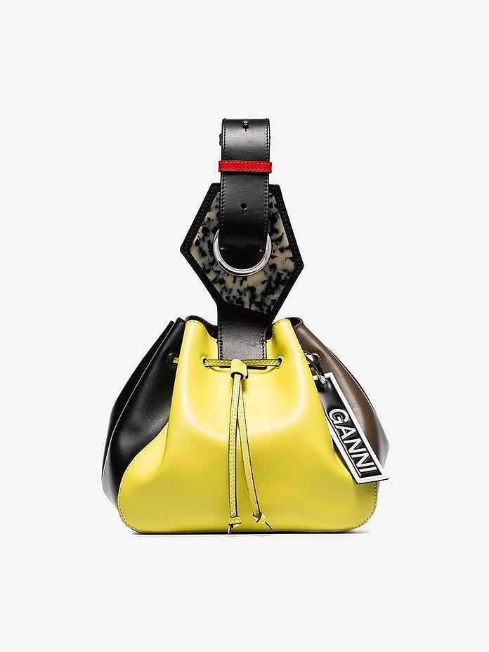 Ganni Accessories GNNI Medium Drawstring Bag
