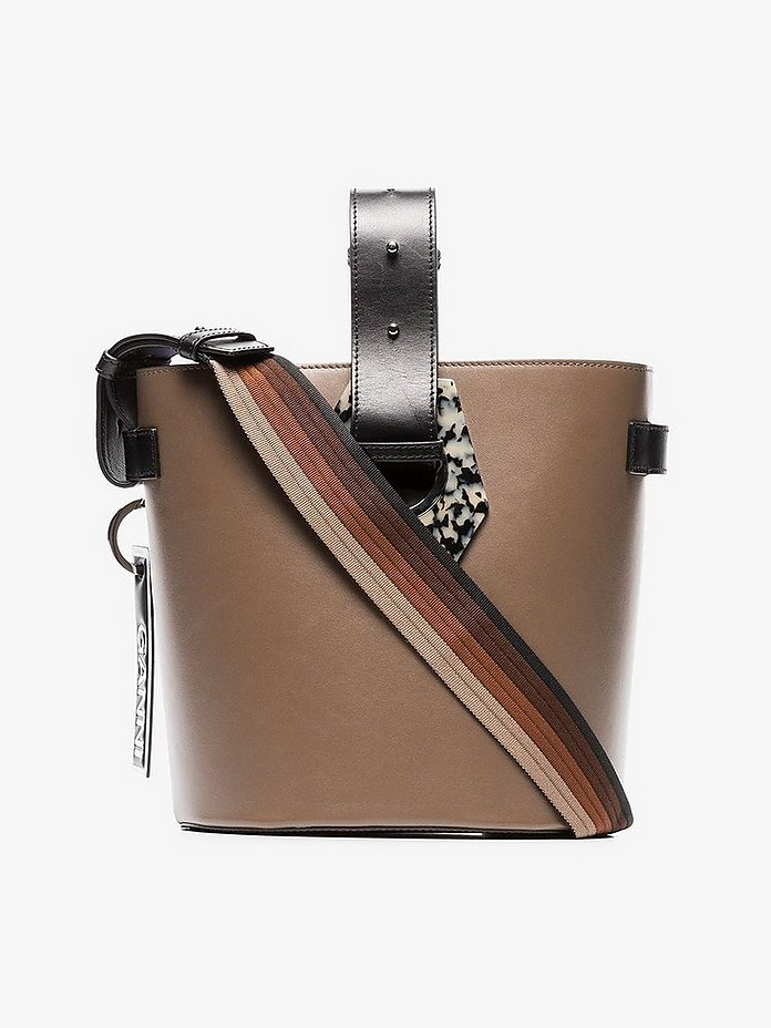 Ganni Accessories Leather Bucket Bag