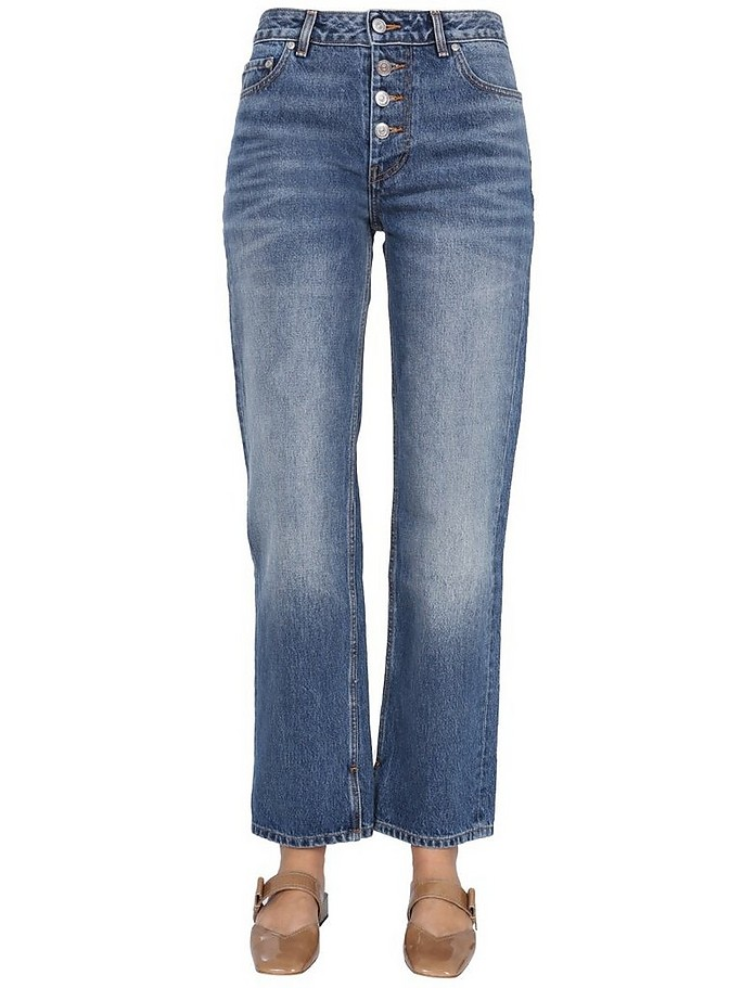Relaxed Fit Jeans - Ganni