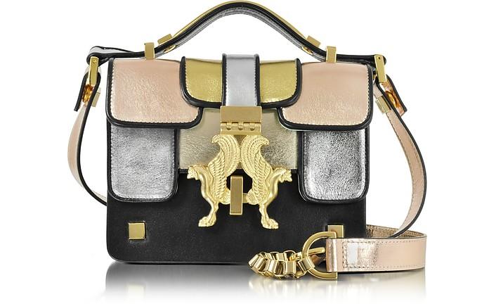 Mini P Multicolor Metallic Leather Bag - Giancarlo Petriglia