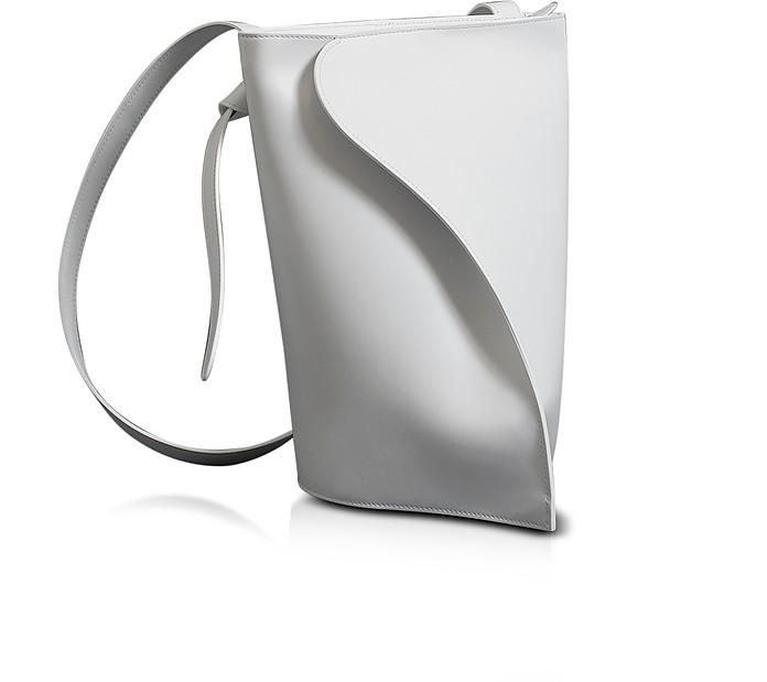 Layla White Shoulder Bag - Giaquinto