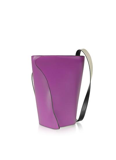 Layla Orchidea-Egret Shoulder Bag - Giaquinto
