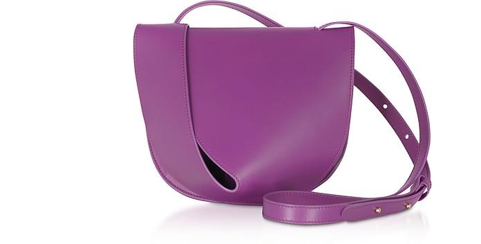 Candy Saddle Orchid-Egret Shoulder Bag - Giaquinto / ジャクイント