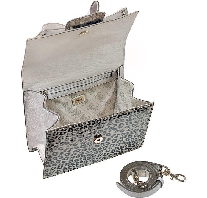 Laurita - Top Zip Animal Print Bag - Guess. kr 1 f9e8f9d072098