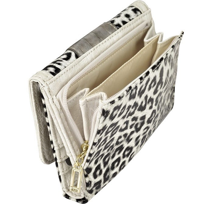 Laurita - Animal Print French Purse Wallet - Guess. AU 87.50 Actual  transaction amount 7215aa2172287