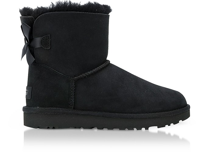 Black Mini Bailey Bow Boots - UGG