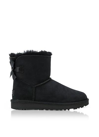 Black Mini Bailey Bow Boots - UGG