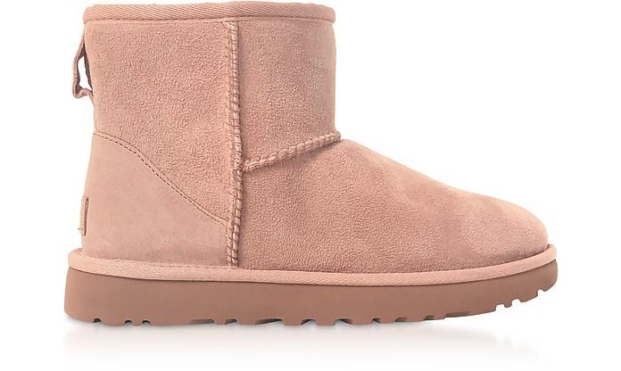 Pink Crystal Classic Mini II Boots - UGG