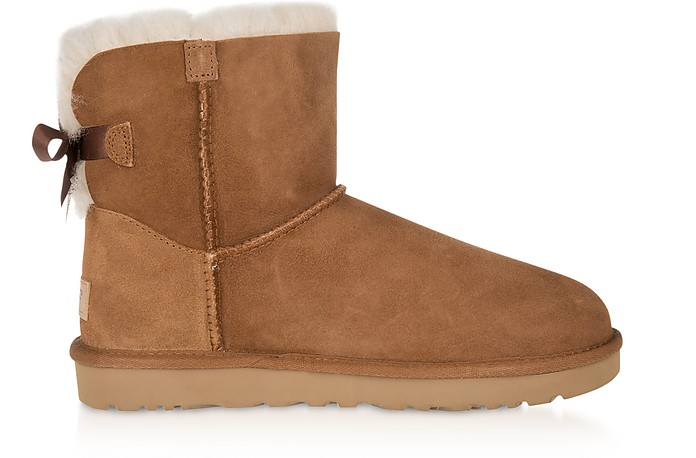 Chestnut Mini Bailey Bow Boots - UGG