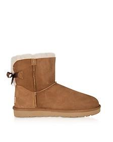 Chestnut Mini Bailey Bow Boots