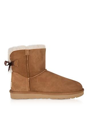 0fb69a1198 Chestnut Mini Bailey Bow Boots - UGG