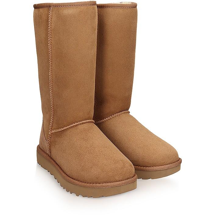 1fcf2411607 Classic Tall Chestnut Boots