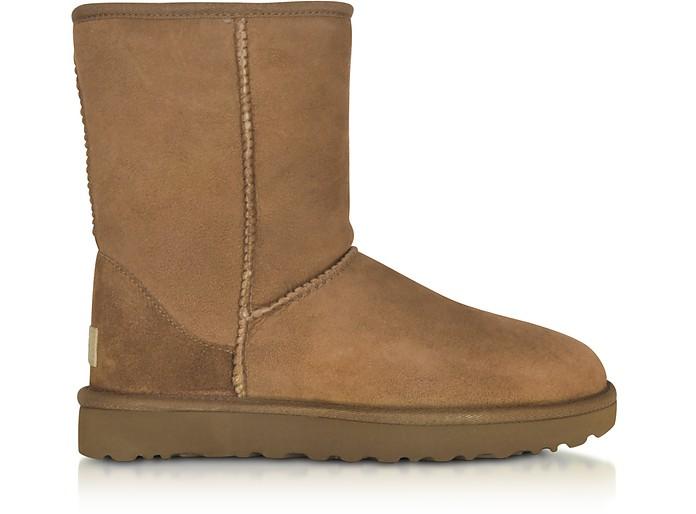 UGG W Classic Short II Chestnut boots