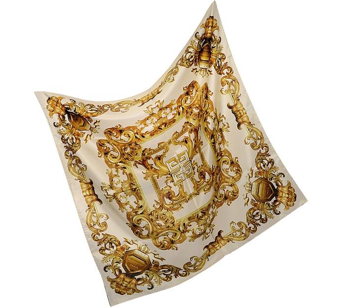 Ornamental Silk Square Scarf  - Givenchy