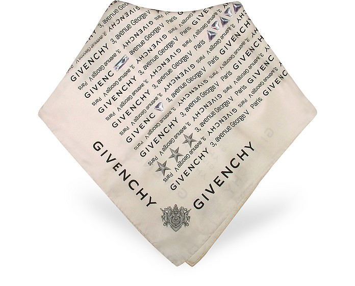 Signature Silk Square Scarf - Givenchy