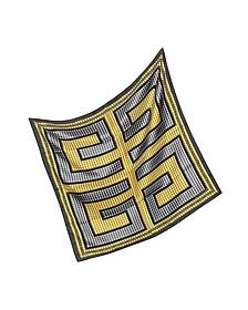 Signature Twill Silk Square Scarf