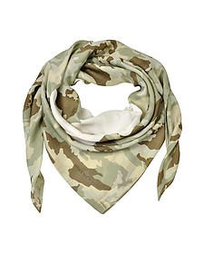Favelas 74 Camouflage Cotton and Modal Wrap