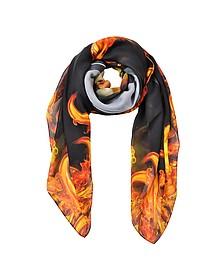 Bambi Print and Flames Men's Wrap