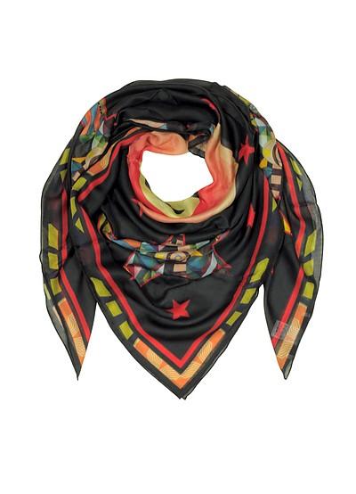 Modal and Silk Stars Printed Wrap - Givenchy