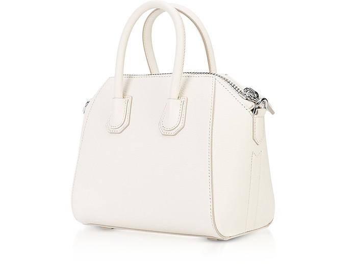 e7a6a43795 Givenchy Antigona Mini Off White Leather Satchel Bag at FORZIERI Canada