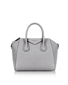Pearl Gray Antigona Small Tote - Givenchy
