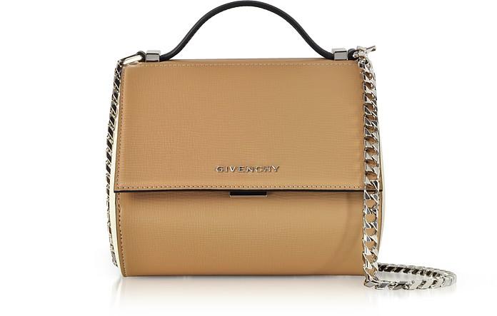 Light Beige Pandora Box Crossbody Bag - Givenchy