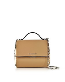 Light Beige Pandora Box Crossbody Bag - Givenchy