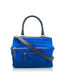 Blue Leather Pandora Crossbody Bag - Givenchy