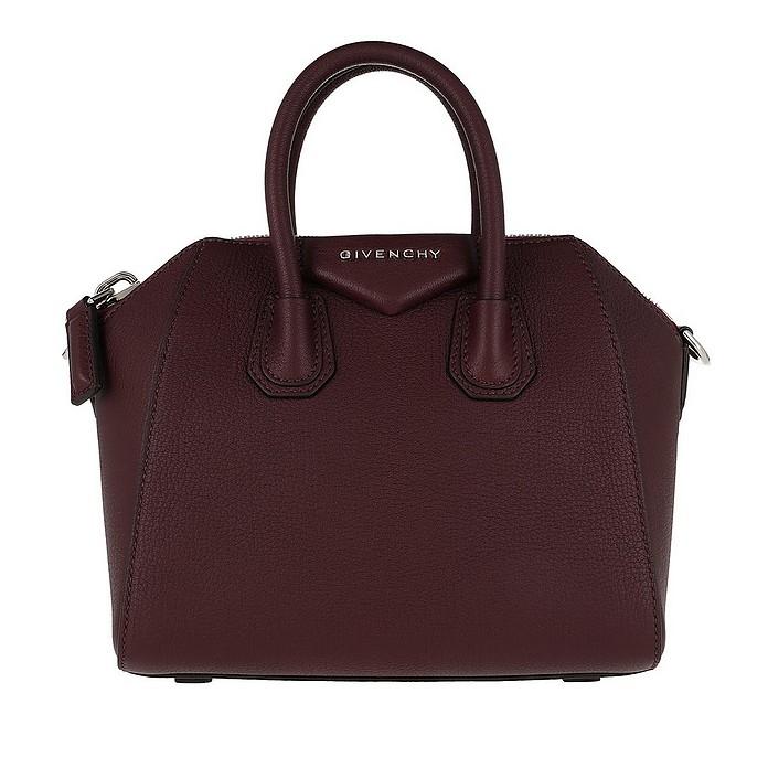 Antigona Mini Bag Aubergine - Givenchy