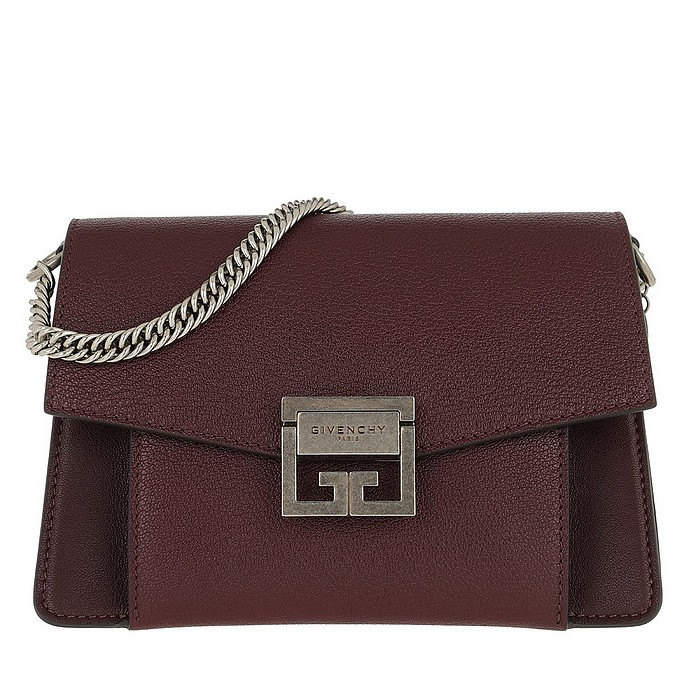 GV3 Nano Crossbody Bag Leather Bordeaux - Givenchy / ジバンシー