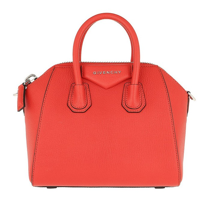 Antigona Mini Bag Poppy Red - Givenchy