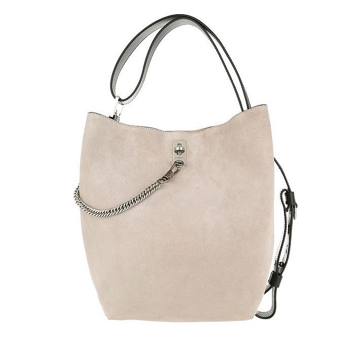 GV Bucket Bag Medium Leather Natural Silver - Givenchy / ジバンシー