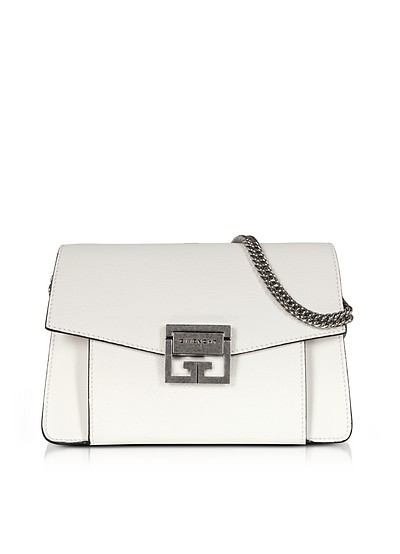 Small GV3 Leather Shoulder Bag - Givenchy