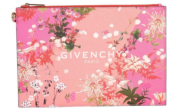 Medium Pouch With Logo - Givenchy