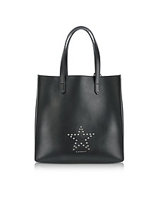 Stargate Medium Black Leather Tote Bag - Givenchy