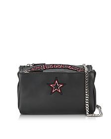 Pandora Chain Black Leather Crossbody Bag - Givenchy