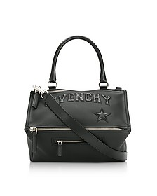 Black Polyvinyl Medium Pandora Bag - Givenchy