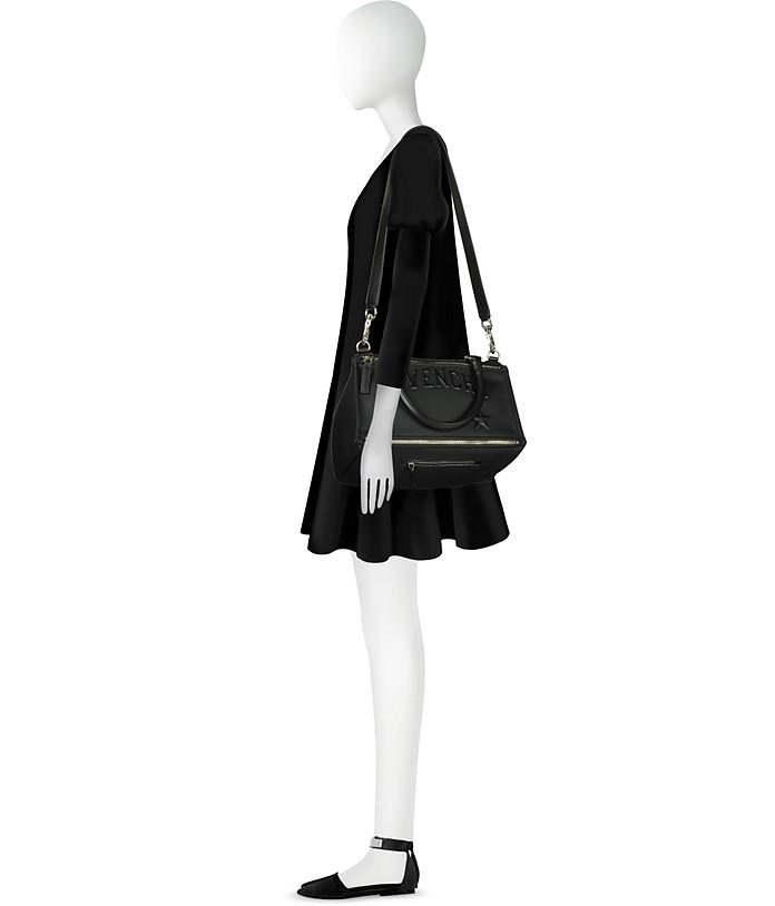f5d356155d Givenchy Black Polyvinyl Medium Pandora Bag at FORZIERI