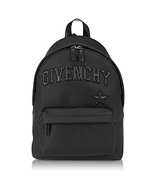 Black Polyvinyl Signature Backpack - Givenchy