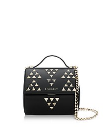 Black Pandora Chain Mini Shoulder Bag w/Studs - Givenchy